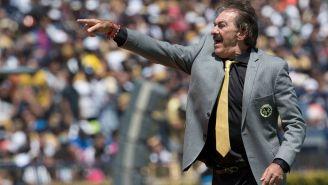 Ricardo La Volpe, en su paso por el banquillo azulcrema