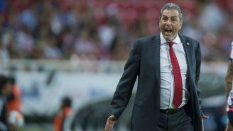 Tomás Boy 'explota' en juego contra el Puebla