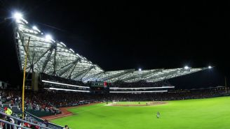 El Estadio Alfredo Harp Helú durante un partido