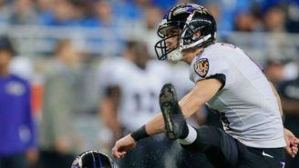 Tucker marca un Gol de Campo con Ravens