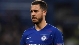 Hazard, pensativo tras un duelo del Chelsea en Premier