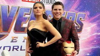 Ana Bárbara, durante la alfombra roja de 'Avengers:Endgame'