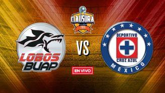 EN VIVO y EN DIRECTO: Lobos BUAP vs Cruz Azul
