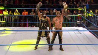 Lucha Brothers festejan con los campeonatos en Pareja de Impact