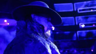 Undertaker en un show de la WWE