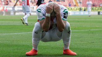 El lamento de Brian Fernández tras una falla