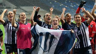 Monterrey celebra su pase a la Final de la Liga MX Femenil