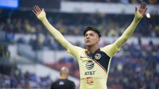 Edson Álvarez festeja un gol en la Final del A2018 ante Cruz Azul