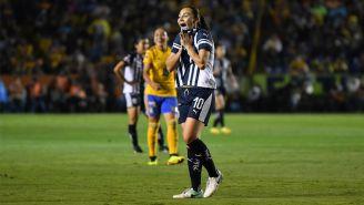 Dinora Garza lamenta error durante el duelo contra Tigres