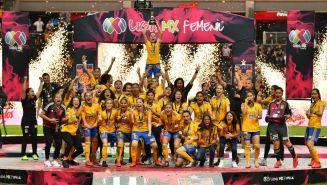 Tigres celebra su segundo título de la Liga MX Femenil