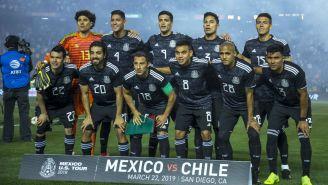 Selección Nacional previo a un duelo amistoso contra Chile