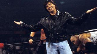 Eric Bischoff cuando era presidente de la WCW