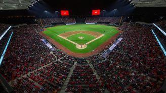 El Estadio Alfredo Harp en el juego inaugural