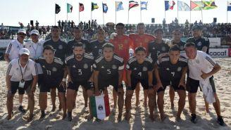 La Selección Mexicana de futbol de playa