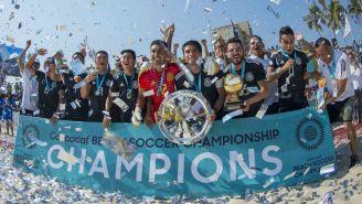 Selección Mexicana de playa celebra el Título