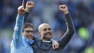 Guardiola festeja triunfo del Man City