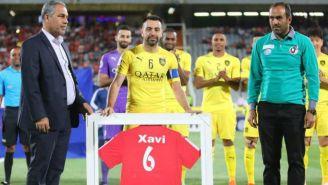 Xavi se despide de las canchas con el Al Sadd