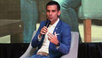 Rafa Márquez durante el congreso internacional de psicología aplicada al futbol