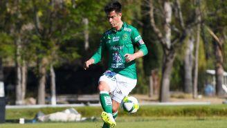 González, durante un duelo con León Sub 20