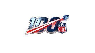 Logo de la temporada 100 de la NFL