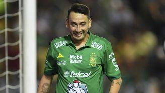 Rubens Sambueza sonríe durante la Final entre León y Tigres