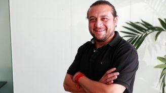 Carlos Reynoso posa para RÉCORD