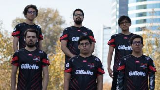 El jersey de Infinity ya luce a su nuevo patrocinador en el frente