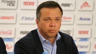 Varela, durante una conferencia de prensa