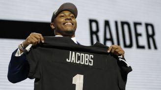 Josh Jacobs, nuevo corredor de los Raiders
