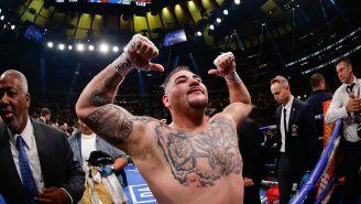 Andy Ruiz tras convertirse en Campeón Mundial de Peso Pesado