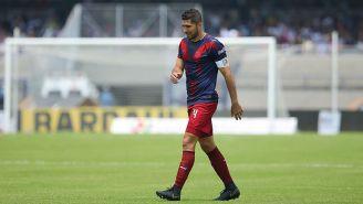 Jair Pereira se lamenta tras un partido con Chivas