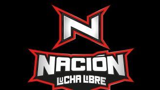 Logo de Nación Lucha Libre