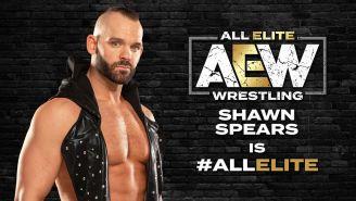 Shawn Spears llega a All Elite Wrestling