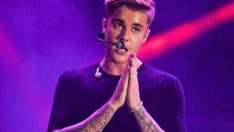 Juntin Bieber durante un concierto
