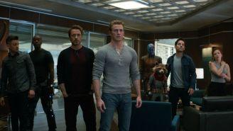 Escena de la película Avengers: Endgame