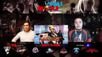 Kula (izq.), durante la Gran Final del torneo Vegas X Rumble