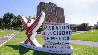 Logo del Maratón de la CDMX