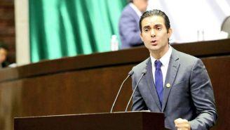 Ernesto D'Alesio, durante una sesión en la Cámara de Diputados