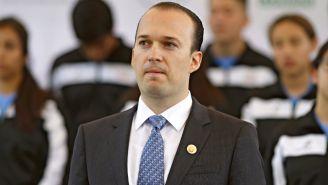 Kiril Todorov durante una conferencia de prensa