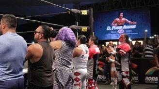 El Perro Aguayo es homenajeado en Triple A