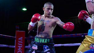 Iván 'Sonrics' Ramírez en una pelea