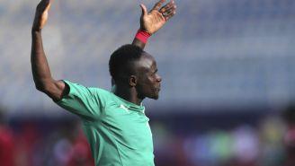 Sadio Mané, estrella de la selección de Senegal