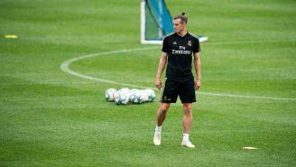 Gareth Bale en la pretemporada del Real Madrid en Montreal, Canadá