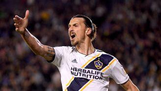 El delantero sueco es la gran figura del Galaxy en la MLS