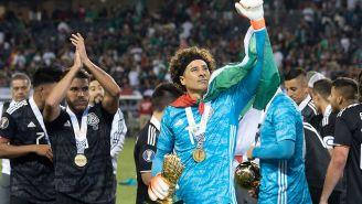 Memo Ochoa, tras el título de la Copa Oro ante EU