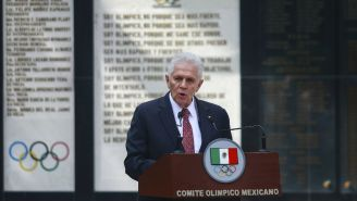 Carlos Padilla Becerra, presidente del Comité Olímpico Mexicano