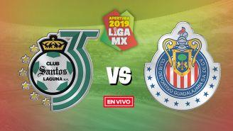 EN VIVO y EN DIRECTO: Santos vs Chivas