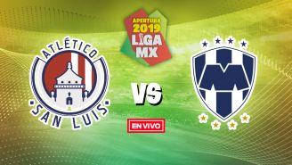 EN VIVO y EN DIRECTO: Atlético de San Luis vs Monterrey