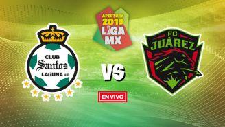EN VIVO y EN DIRECTO: Santos vs FC Juárez