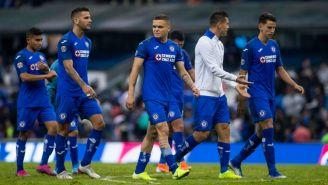 Jugadores de La Máquina se lamentan tras empate contra Toluca